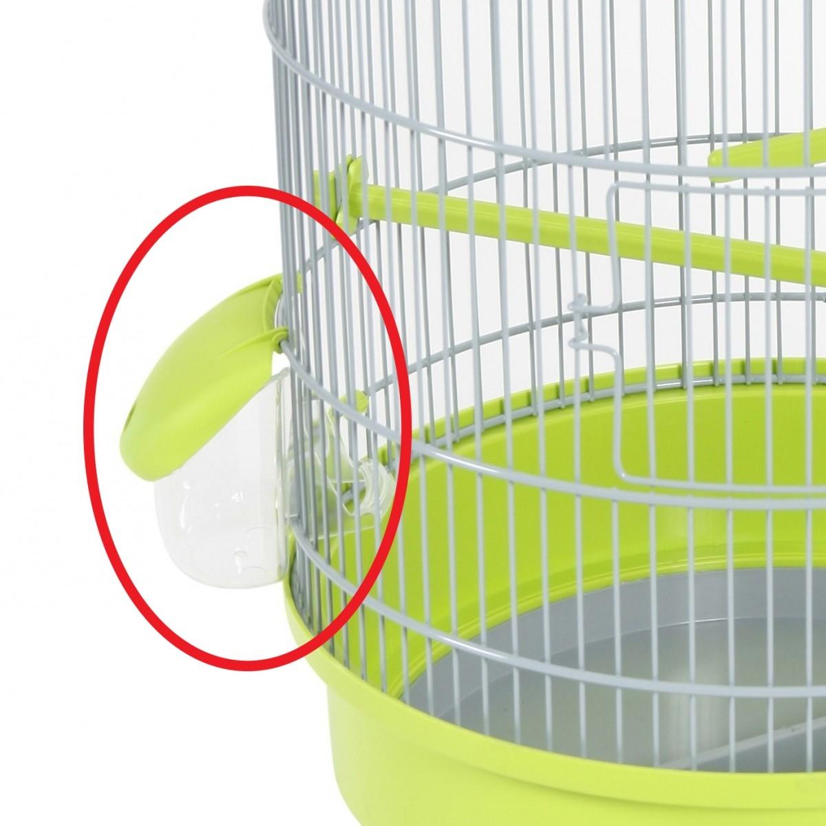 mangeoire pour cage zolux x2 pi ces de rechange pour cage oiseaux. Black Bedroom Furniture Sets. Home Design Ideas
