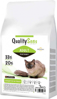 QUALITY SENS Maintenance pour Chat Adulte