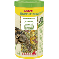 Sera Flowers'n'Loops Nature Friandise pour reptiles herbivores