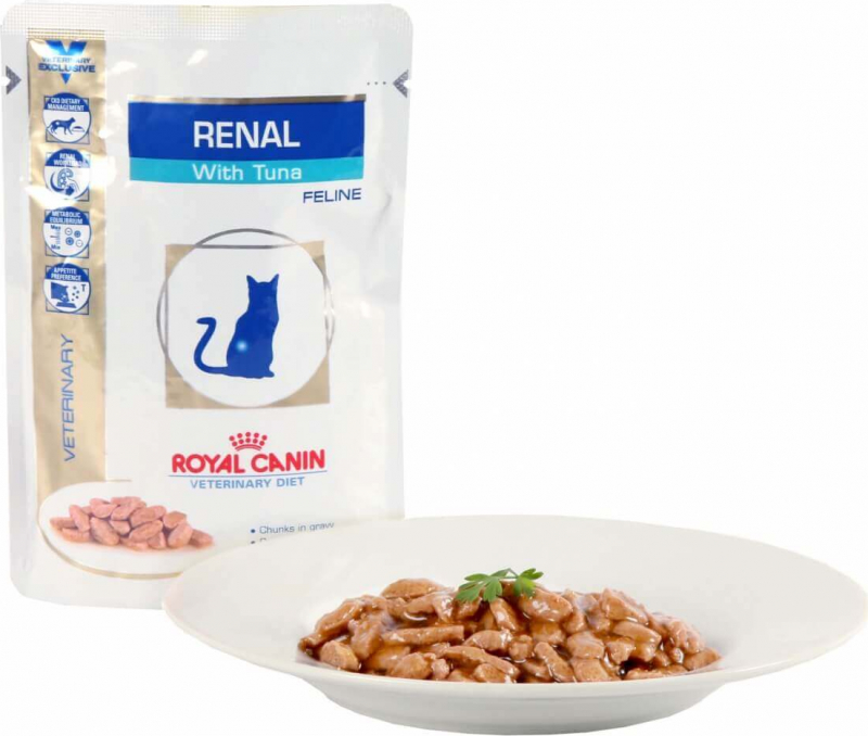 Royal Canin Veterinary Diet Feline Renal Pack de 12 x 85g