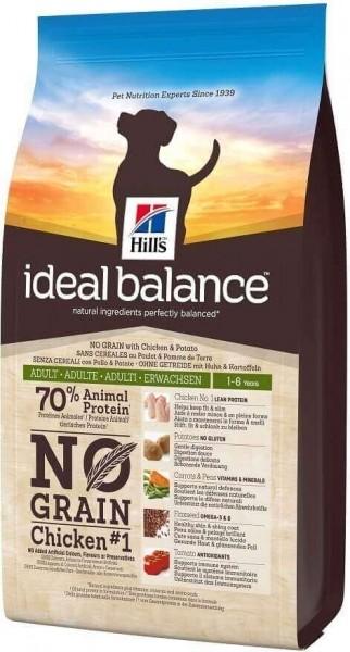 IDEAL BALANCE Canine Adult No Grain Poulet & Pomme de terre