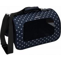 Faltbare Transporttaschen in schwarz mit Punkten