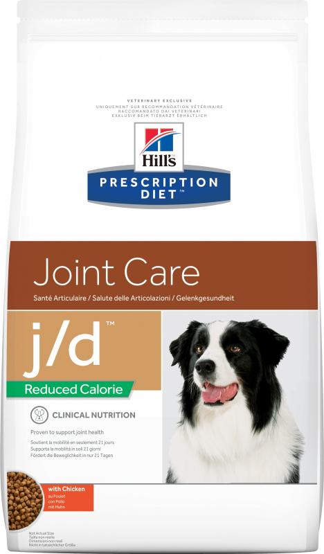 HILL'S Prescription Diet J/D Joint Care Reduced Calorie pour chien adulte