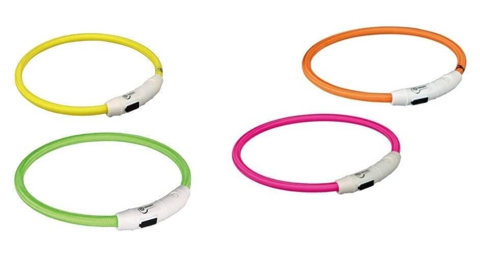 Collier anneau lumineux flash avec prise USB_0