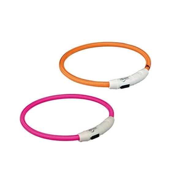 Collier anneau lumineux flash avec prise USB_3