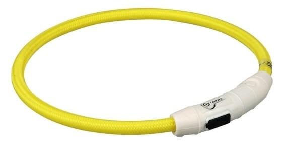 Collier anneau lumineux flash avec prise USB_1
