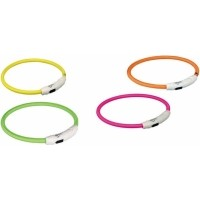 Collier anneau lumineux flash avec prise USB