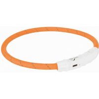 Lichtgevende halsband met USB