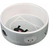 Comedero de cerámica Mimi cabeza de gato