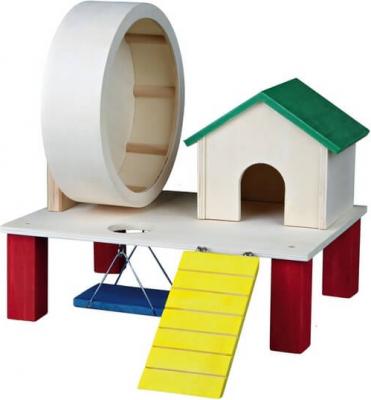 Aire de jeu pour hamsters - coloré