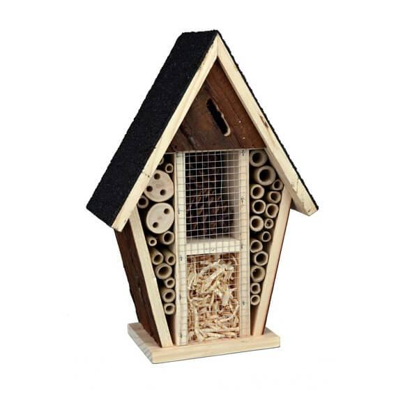 H tel pour insectes natural living mangeoire et nichoir for Hotel a insecte acheter