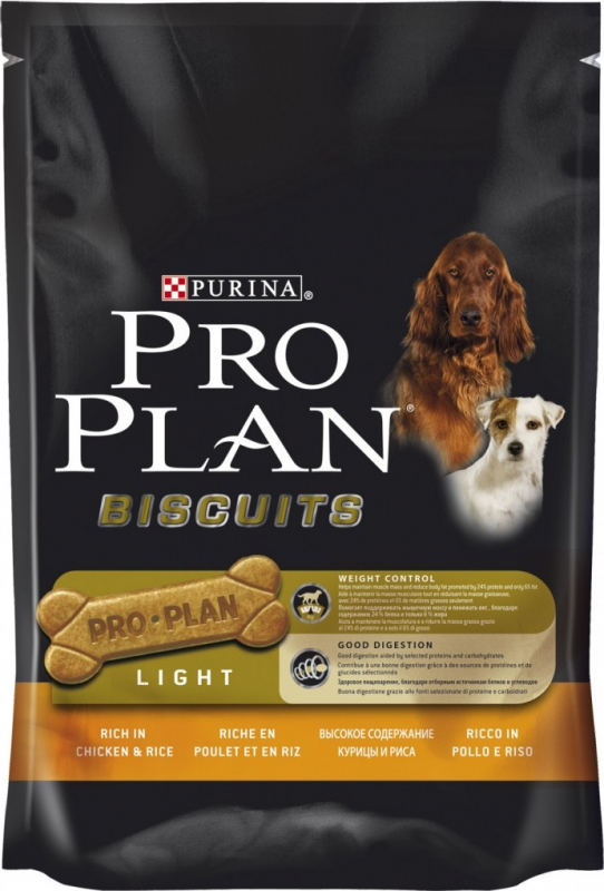 PROPLAN DOG Biscuits Light