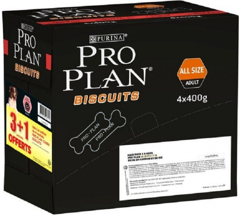 PROPLAN DOG Biscuits au saumon