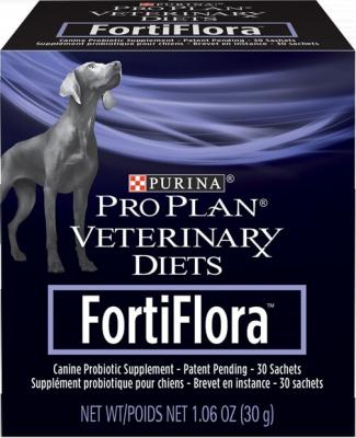 FORTIFLORA complément alimentaire probiotique pour chien
