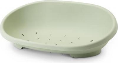 Corbeille plastique SNOOZE vert olive