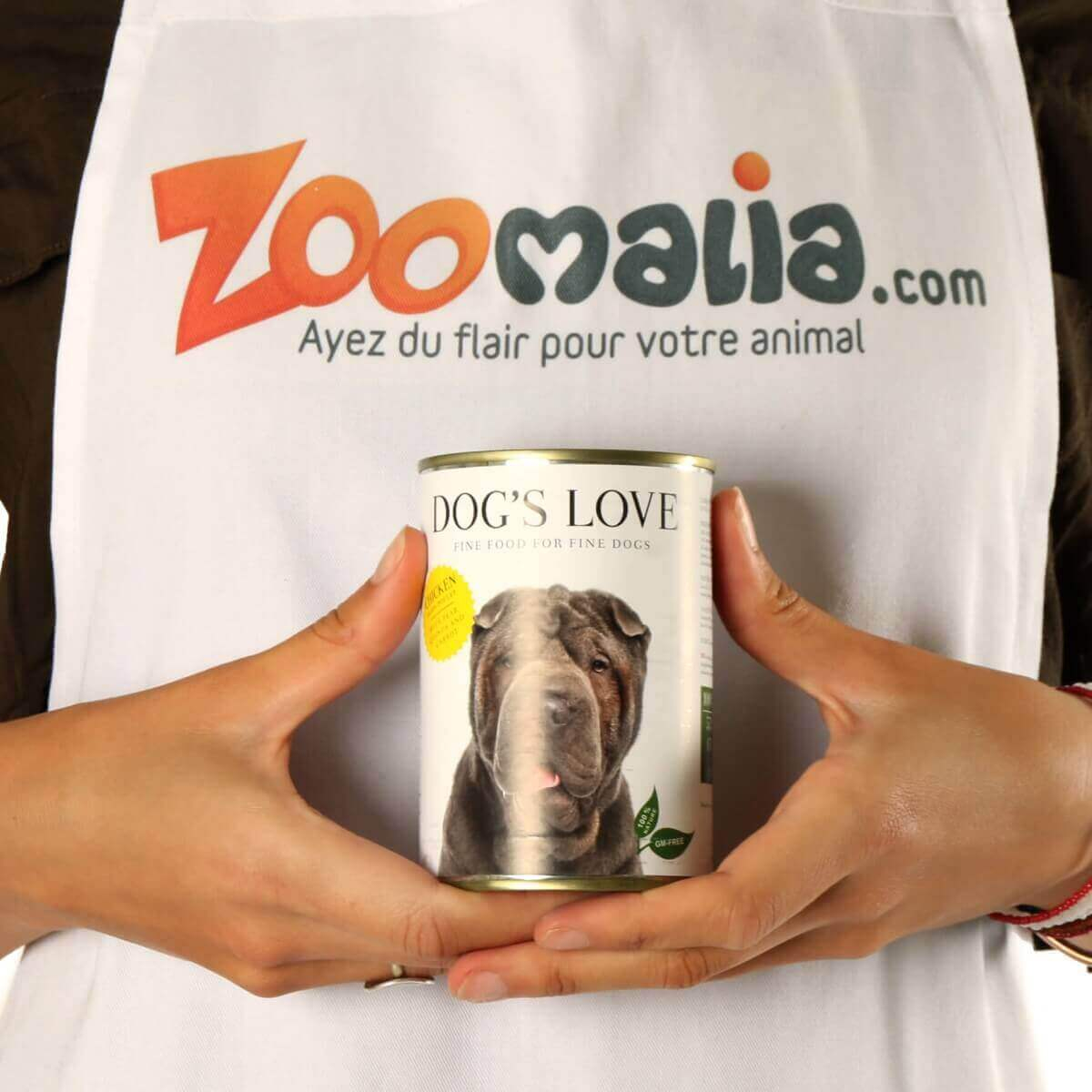 Paté 100% natural DOG'S LOVE para perros adultos, pollo_6