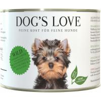 Patè 100% naturale Dog's Love alla selvaggina senza cereali per cani adulti