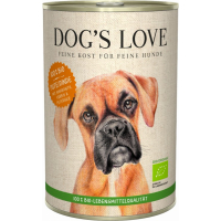 Pâtée BIO 100% naturale Dog's Love al tacchino