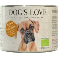 Pâtée BIO 100% naturelle Dog's Love à la dinde
