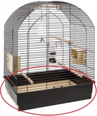 Bac de rechange pour cage GRETA et volière NOTA