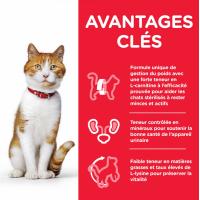 HILL'S Science Plan Feline Young Adult Sterilised Cat Thon pour chat stérilisé