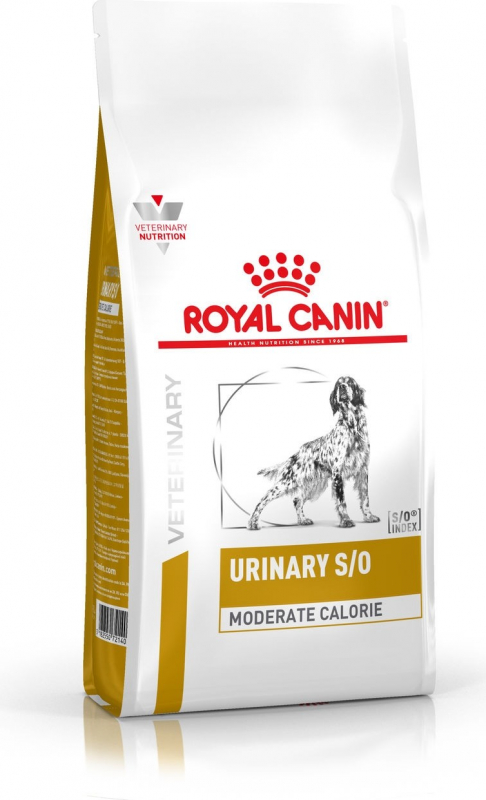 Royal Canin Veterinary DOG Urinary S/O moderate calorie