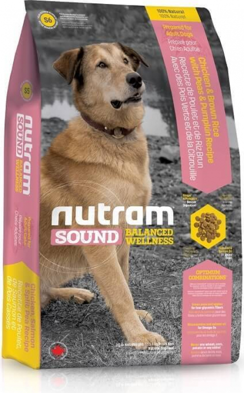 Nutram Sound Balanced Wellness S6 Adult Dog