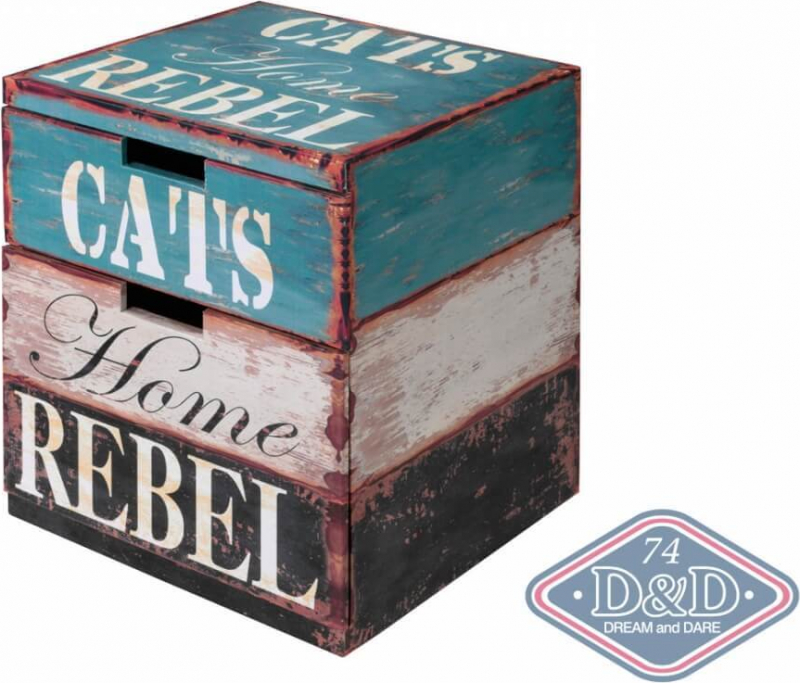 Cat Box Rebel Cube Chat