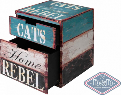 Cat Box Rebel Cube Chat