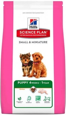 Hill's Canine Puppy Small & Miniature Poulet