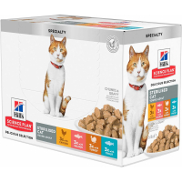 Multipack de Pâtées Hill's Science Plan Feline Sterilised Cat Young Adult - 12 x 85g
