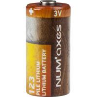 Pile Lithium 3 volts CR123