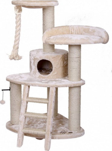 arbre chat zion canyon cr me 138cm arbre chat. Black Bedroom Furniture Sets. Home Design Ideas