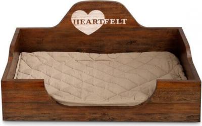 Lit en bois chien - HEARTFELT Manor (sans coussin)