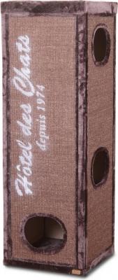Torre rascador y árbol para gatos TREND ROCKEFELLER 150 marrón
