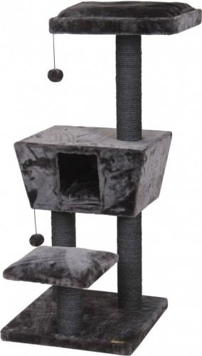 Arbre à chat NEW JERSEY 114cm gris anthracite