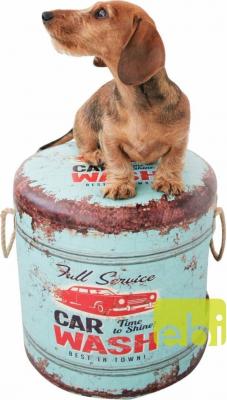 Pouf Pet Box Car-Wash