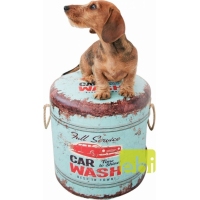 Car Wash Pet Pouf