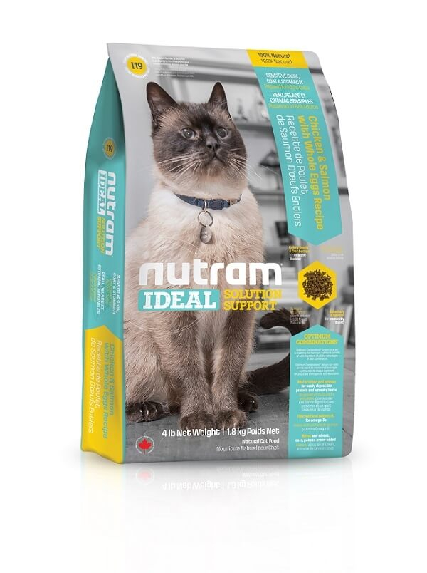 NUTRAM Ideal Solution Support  Sensitive I19 pour chat _0