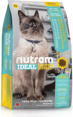 NUTRAM Ideal Solution Support  Sensitive I19 pour chat