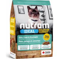 NUTRAM Ideal Solução Suporte Sensitive I19 para gato