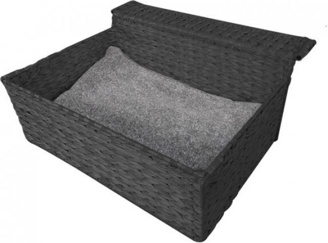Hamac de radiateur Bed Cloud Nine Black pour chat
