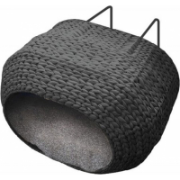 Hamac de radiateur Bed Sunrise Black pour chat