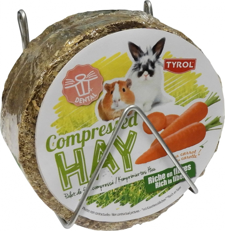 Compressed Hay with Carrot or Corn