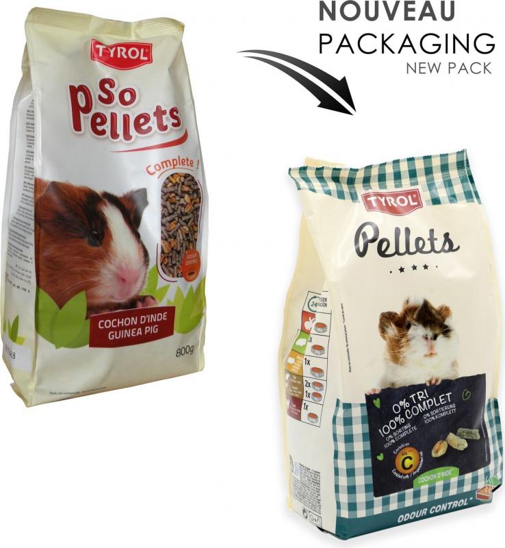 Tyrol So Pellets Aliment complet cochon d'inde