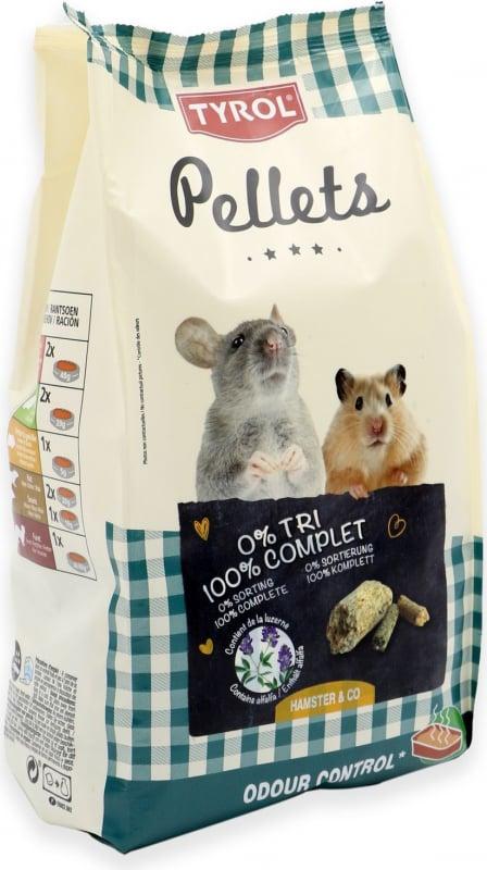 Tyrol Pellets hamster et gerbille
