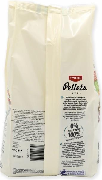 Tyrol Pellets Aliment complet Hamster & Co 800g