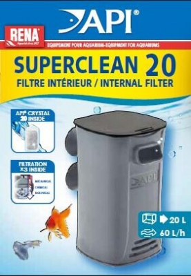 Filtre interne New Superclean Rena