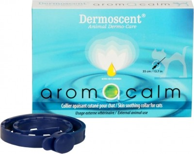 Dermo-collier DERMOSCENT AROMACALM pour chat