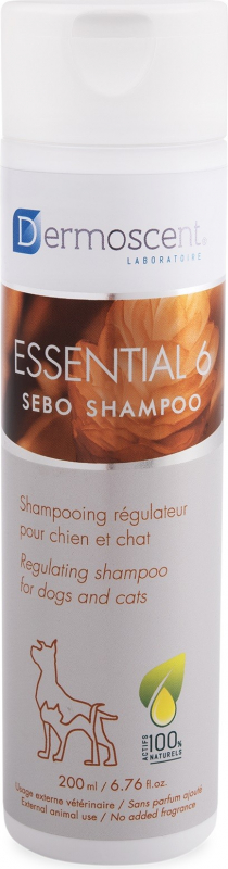 Dermoscent Essential 6 Sebo Shampoo shampoing sébo- régulateur